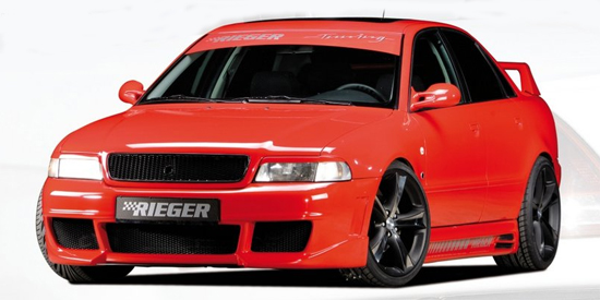 96-01 Audi A4 Rieger RS4 body kit