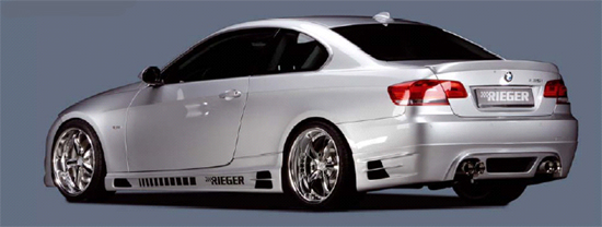 07-08 BMW E92 Rieger Side SKirts
