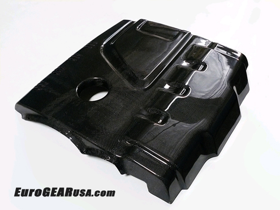 09-11 Audi A4 B8 Carbon Fiber Engine Cover