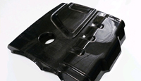 B8 Audi A4 A5 2.0T Carbon Fiber Engine Cover