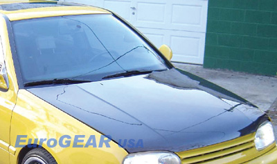 93-98 VW Golf EuroGEAR Carbon Fiber Hood